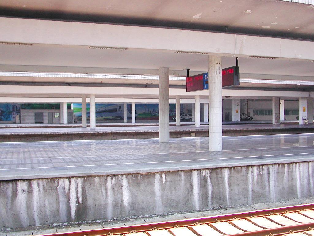 ユーラシア大陸鉄道横断旅行 Go West!1996その7・香港から広州へ-0714