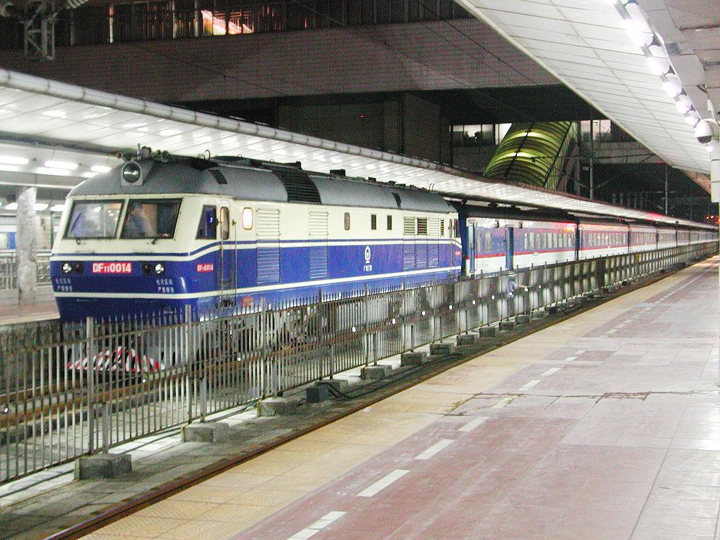 ユーラシア大陸鉄道横断旅行 Go West!1996その11・寝台列車で西安へ-1106