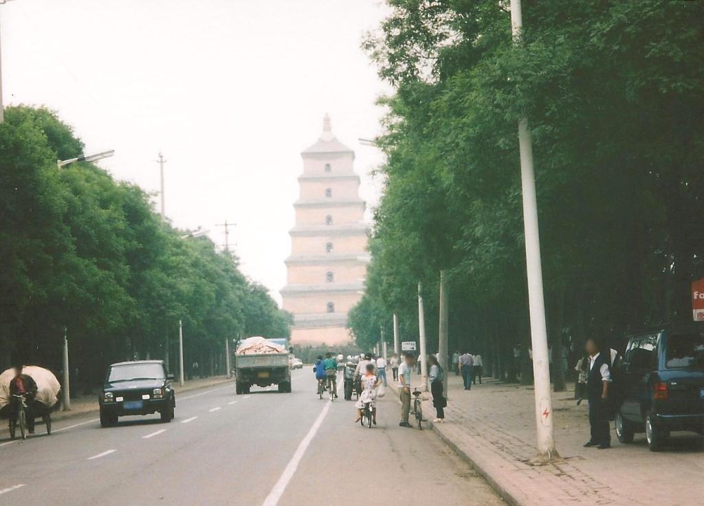 ユーラシア大陸鉄道横断旅行 Go West!1996その15・西安・西安・大慈恩寺と大雁塔-1501