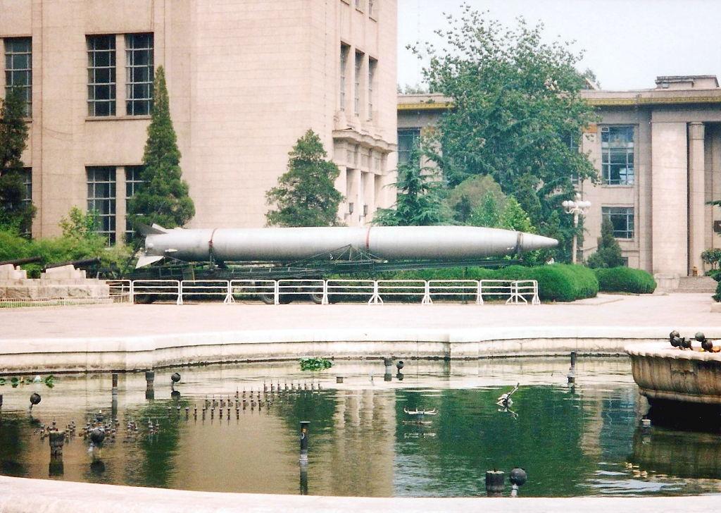 ユーラシア大陸鉄道横断旅行 Go West!1996その32・北京・軍事博物館とシベリア特急-3202