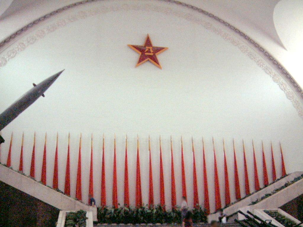 ユーラシア大陸鉄道横断旅行 Go West!1996その32・北京・軍事博物館とシベリア特急-3204