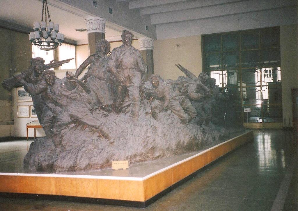 ユーラシア大陸鉄道横断旅行 Go West!1996その32・北京・軍事博物館とシベリア特急-3207