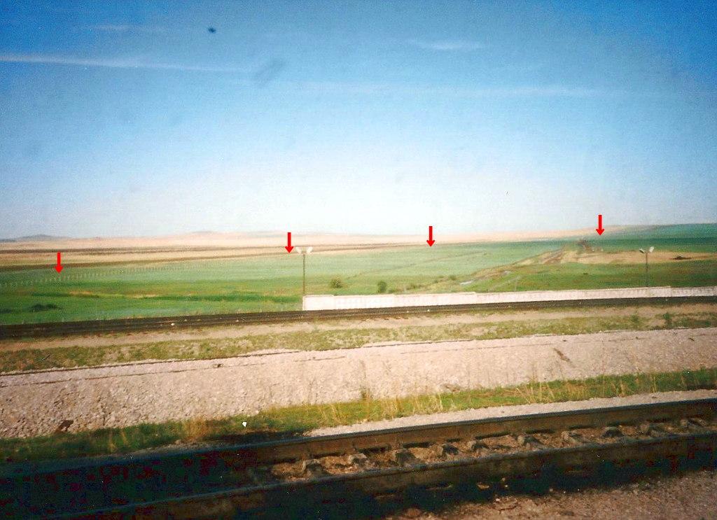 ユーラシア大陸鉄道横断旅行 Go West!1996その33・シベリア特急「ボストーク」号・満洲里からザバイカリスクへ中露国境越え-3306