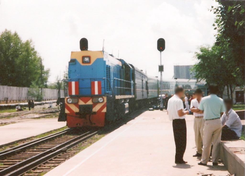 ユーラシア大陸鉄道横断旅行 Go West!1996その33・シベリア特急「ボストーク」号・満洲里からザバイカリスクへ中露国境越え-3308