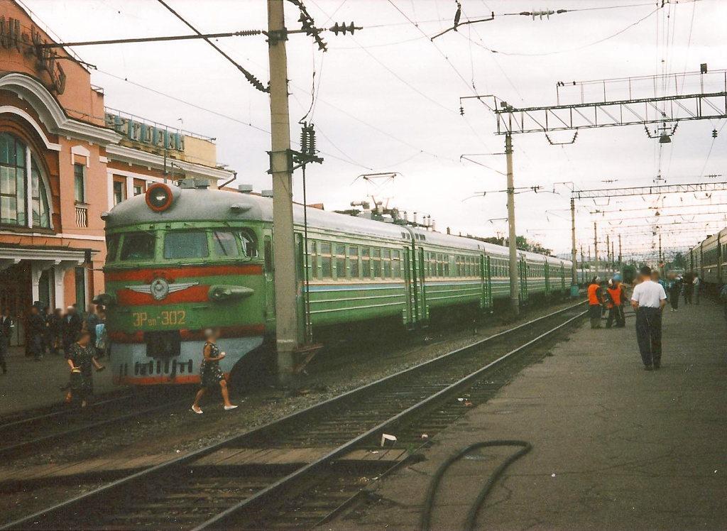 ユーラシア大陸鉄道横断旅行 Go West!1996その34・シベリア特急「ボストーク」号・チタからノボシビルスクへ-3401