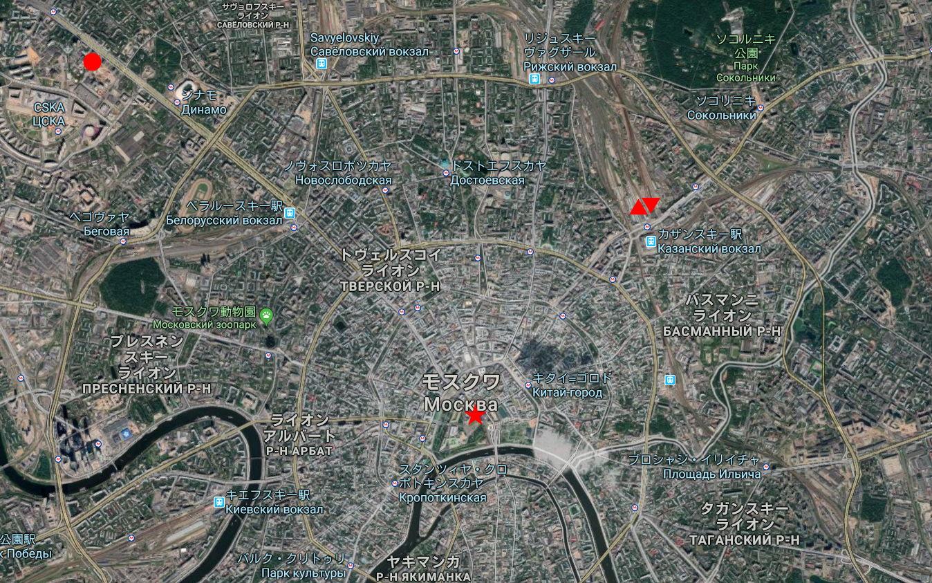 ユーラシア大陸鉄道横断旅行 Go West!1996その36・モスクワ・クレムリンと赤の広場-3604