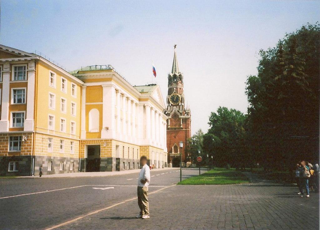 ユーラシア大陸鉄道横断旅行 Go West!1996その36・モスクワ・クレムリンと赤の広場-3608
