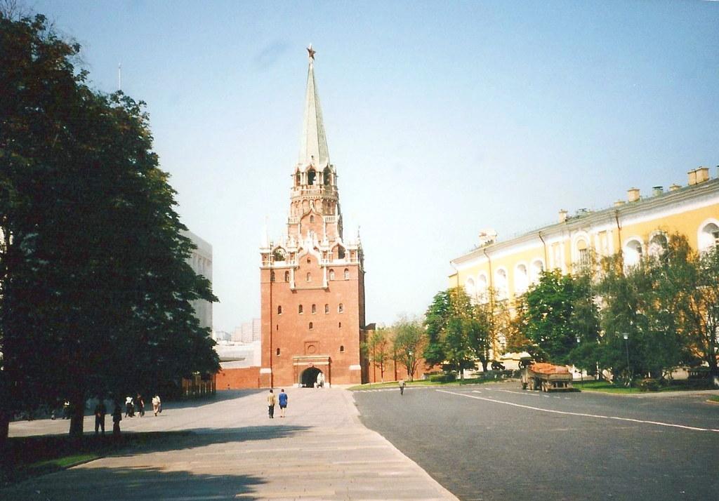 ユーラシア大陸鉄道横断旅行 Go West!1996その36・モスクワ・クレムリンと赤の広場-3609