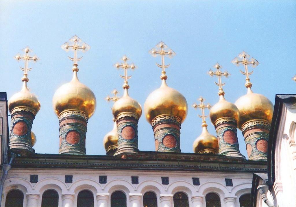 ユーラシア大陸鉄道横断旅行 Go West!1996その36・モスクワ・クレムリンと赤の広場-3610