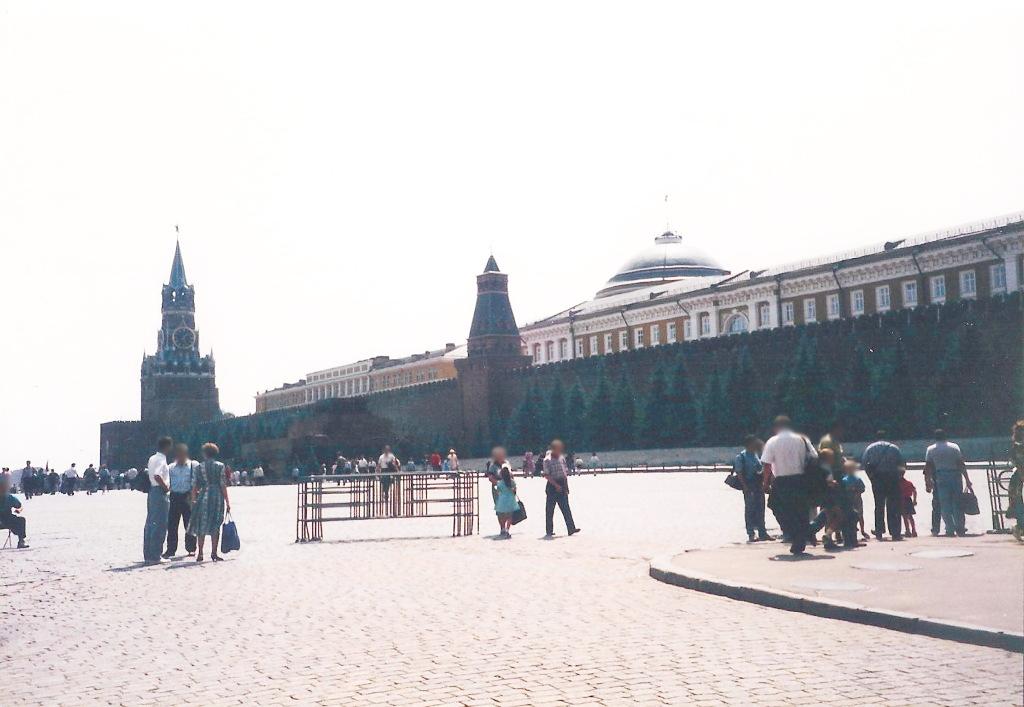 ユーラシア大陸鉄道横断旅行 Go West!1996その36・モスクワ・クレムリンと赤の広場-3613