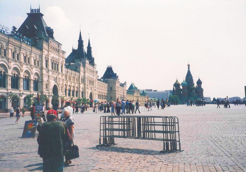 ユーラシア大陸鉄道横断旅行 Go West!1996その36・モスクワ・クレムリンと赤の広場-3614