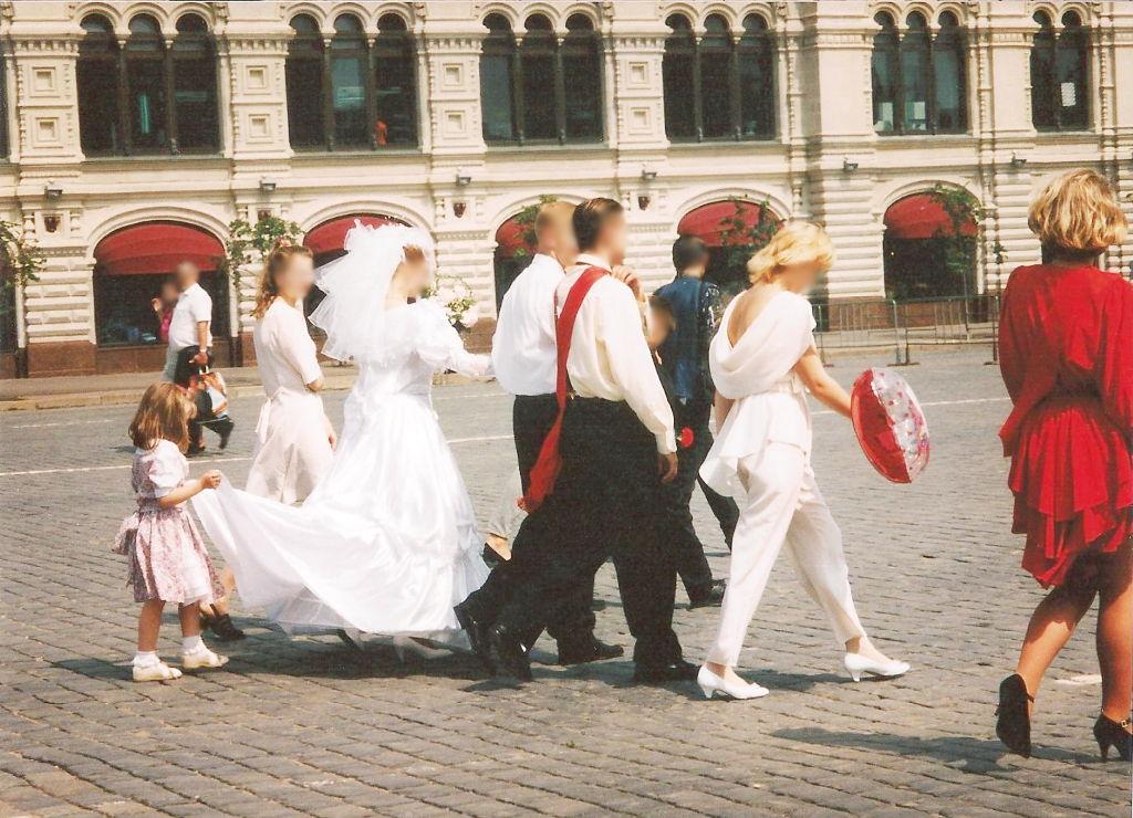 ユーラシア大陸鉄道横断旅行 Go West!1996その36・モスクワ・クレムリンと赤の広場-3618