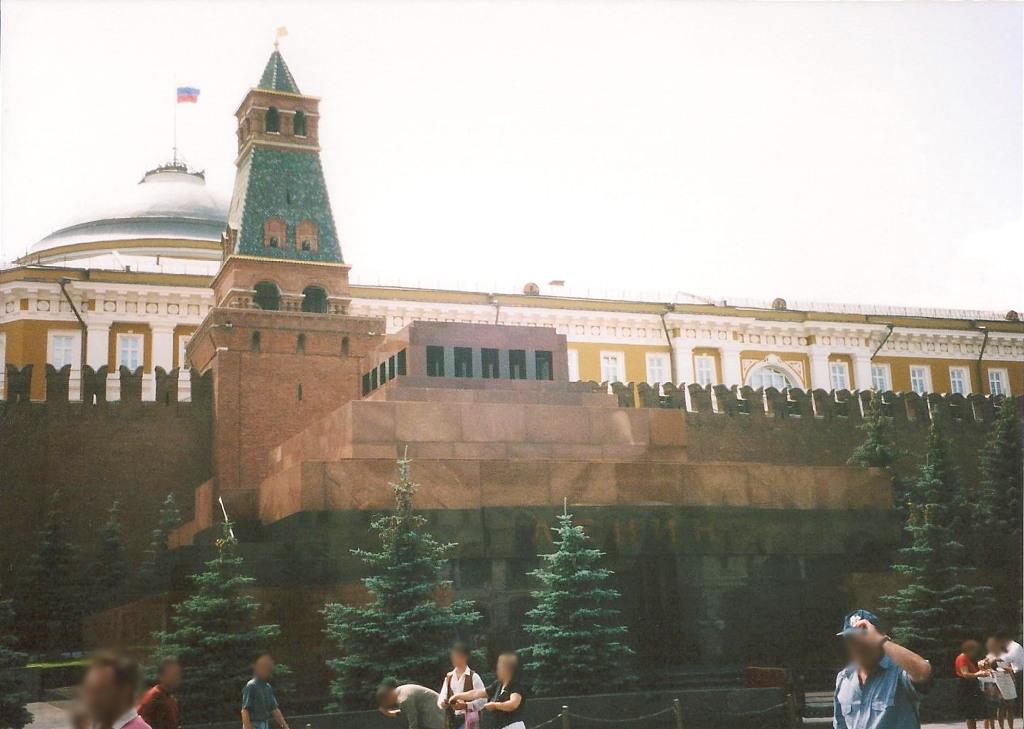 ユーラシア大陸鉄道横断旅行 Go West!1996その36・モスクワ・クレムリンと赤の広場-3621