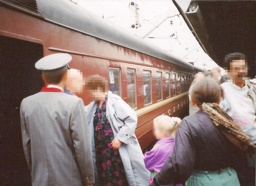 ユーラシア大陸鉄道横断旅行 Go West!1996その36・モスクワ・クレムリンと赤の広場-3624