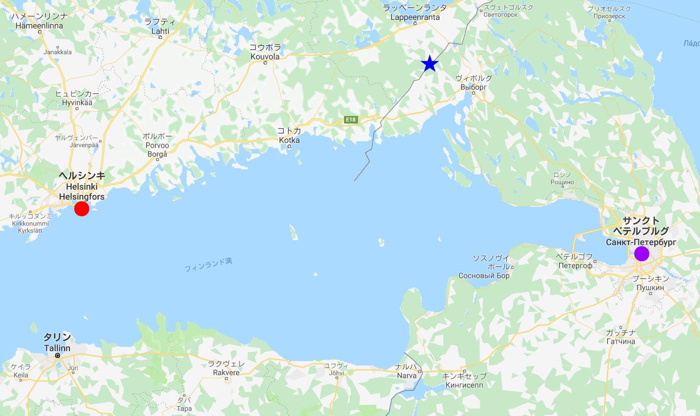 ユーラシア大陸鉄道横断旅行 Go West!1996その37・サンクトペテルブルグからヘルシンキへ-3709