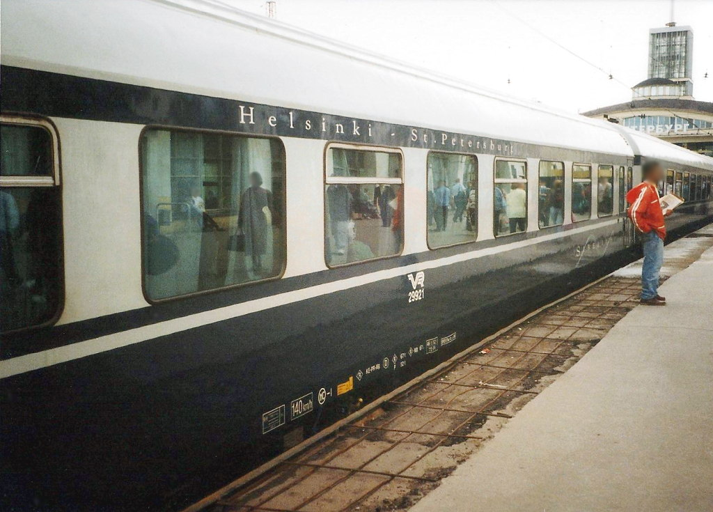 ユーラシア大陸鉄道横断旅行 Go West!1996その37・サンクトペテルブルグからヘルシンキへ-3710