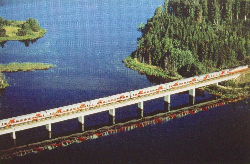 ユーラシア大陸鉄道横断旅行 Go West!1996その39・ヘルシンキからバーサへ-3921