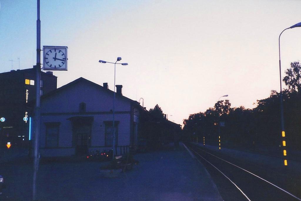 ユーラシア大陸鉄道横断旅行 Go West!1996その39・ヘルシンキからバーサへ-3925