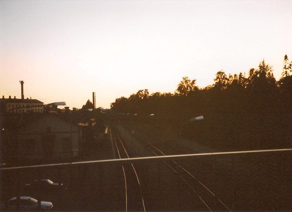 ユーラシア大陸鉄道横断旅行 Go West!1996その39・ヘルシンキからバーサへ-3926
