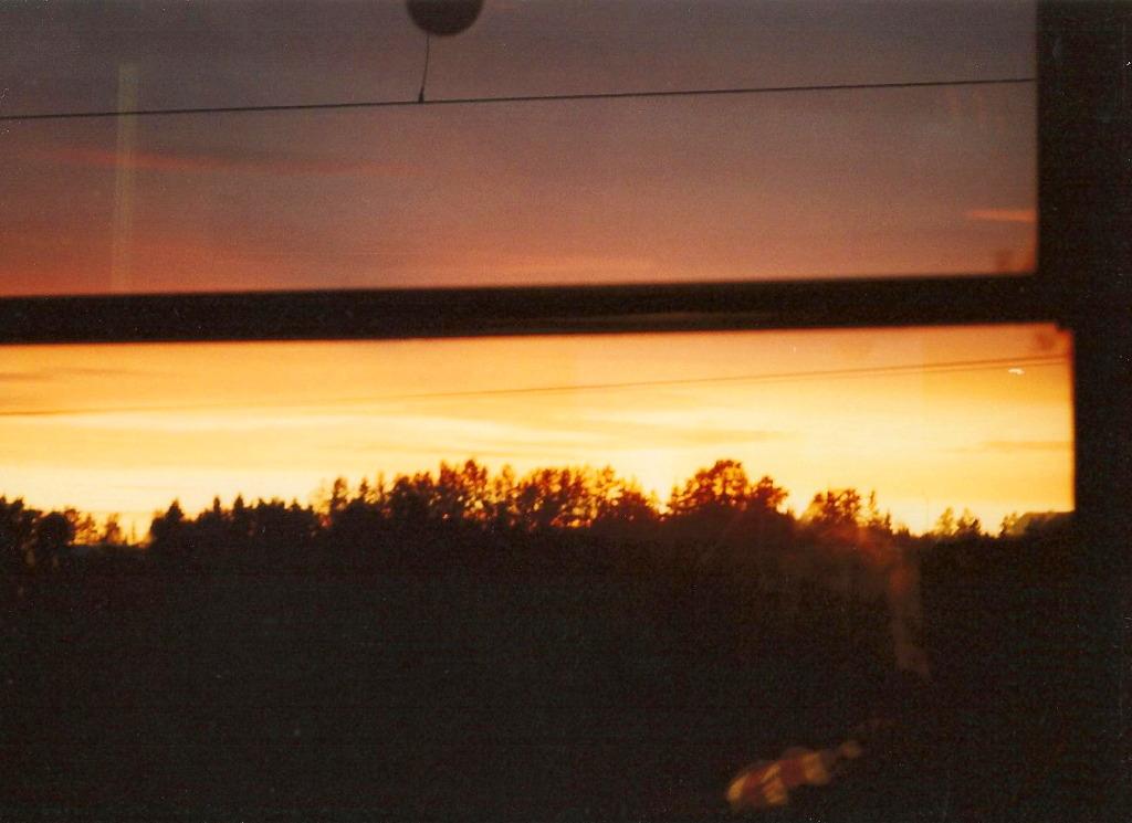 ユーラシア大陸鉄道横断旅行 Go West!1996その40・バーサからウーメオへ-4015