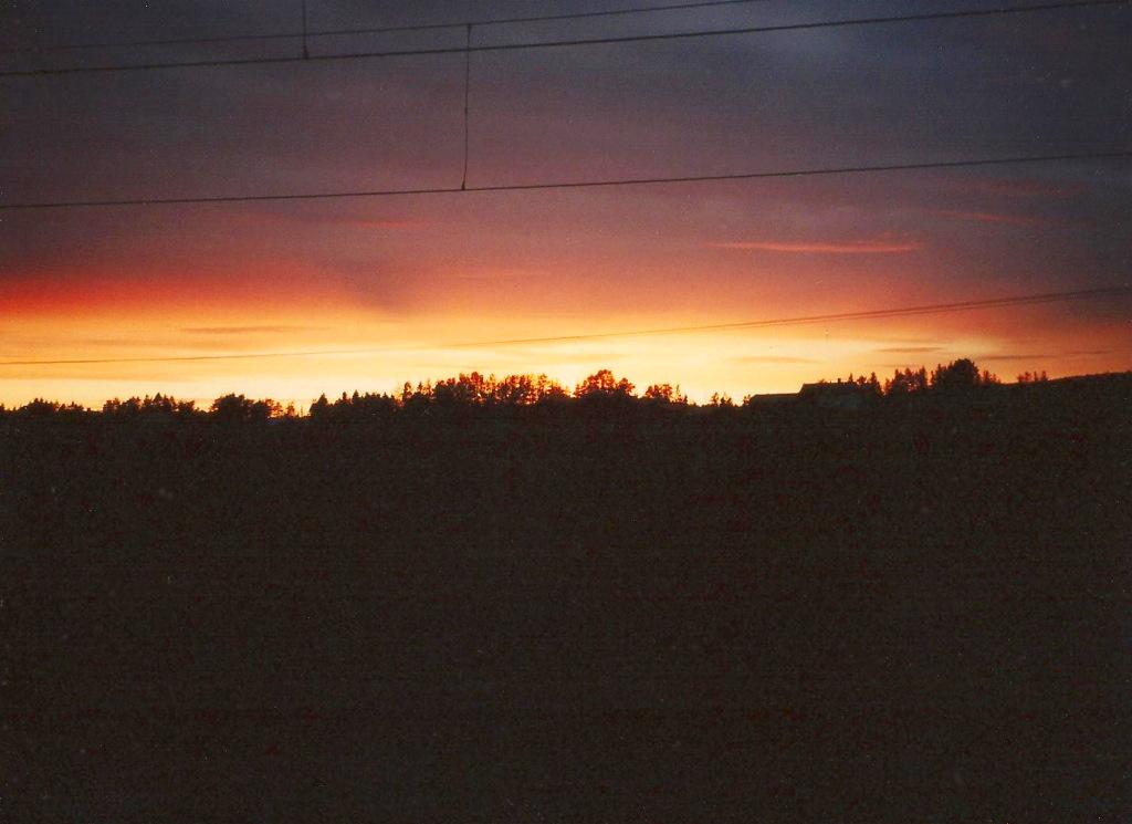 ユーラシア大陸鉄道横断旅行 Go West!1996その40・バーサからウーメオへ-4016
