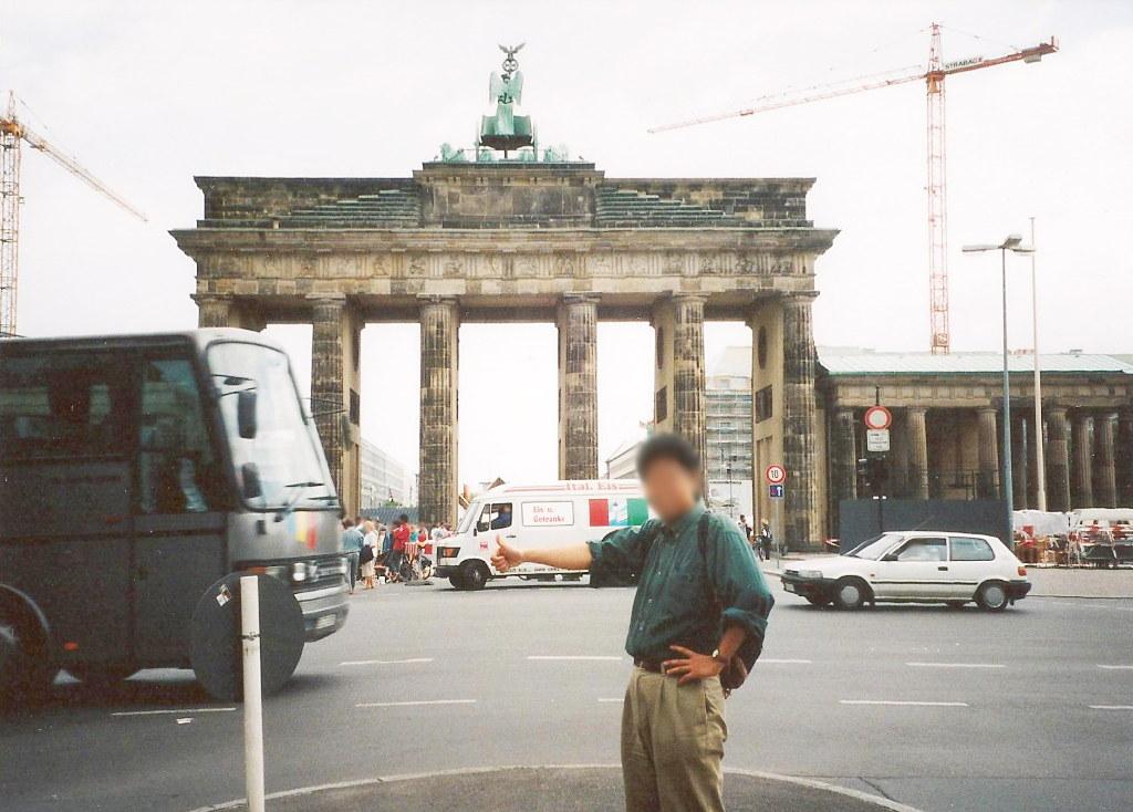 ユーラシア大陸鉄道横断旅行 Go West!1996その43・ベルリン・ベルリンの壁とミトローパ-4307