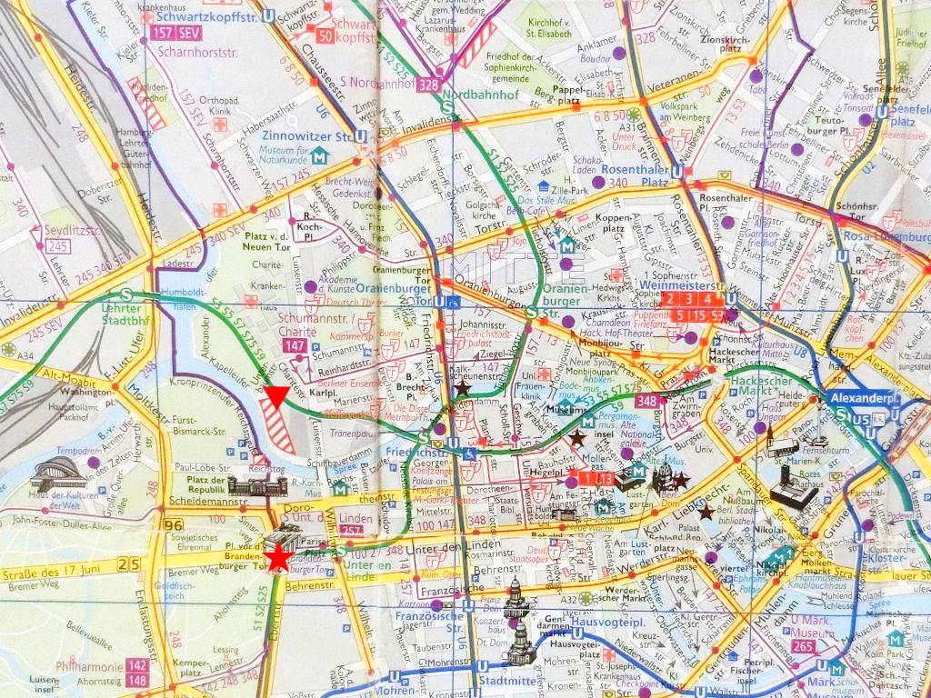 ユーラシア大陸鉄道横断旅行 Go West!1996その43・ベルリン・ベルリンの壁とミトローパ-4312