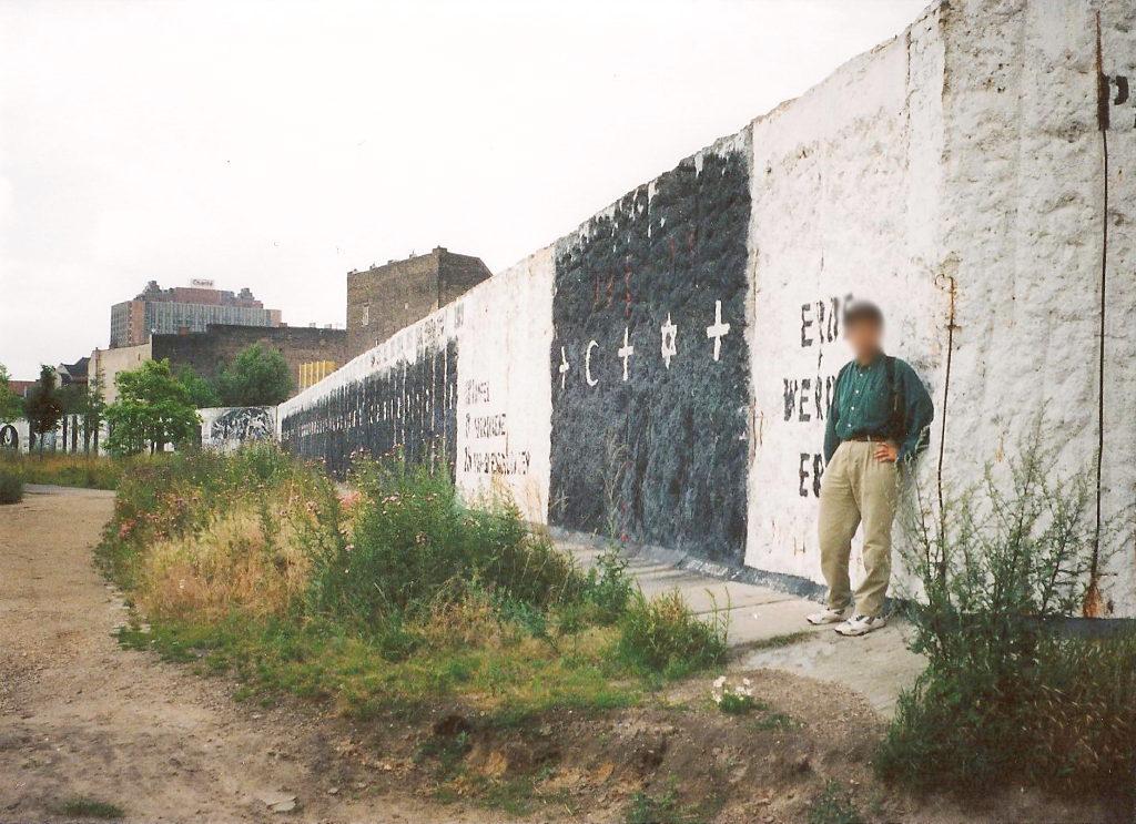 ユーラシア大陸鉄道横断旅行 Go West!1996その43・ベルリン・ベルリンの壁とミトローパ-4313
