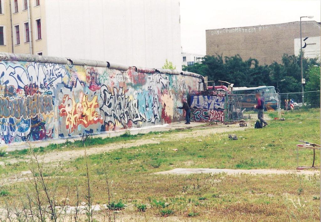 ユーラシア大陸鉄道横断旅行 Go West!1996その43・ベルリン・ベルリンの壁とミトローパ-4317