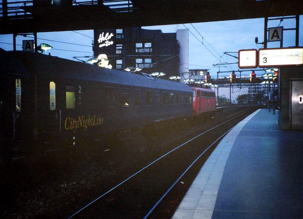 ユーラシア大陸鉄道横断旅行 Go West!1996その43・ベルリン・ベルリンの壁とミトローパ-4325