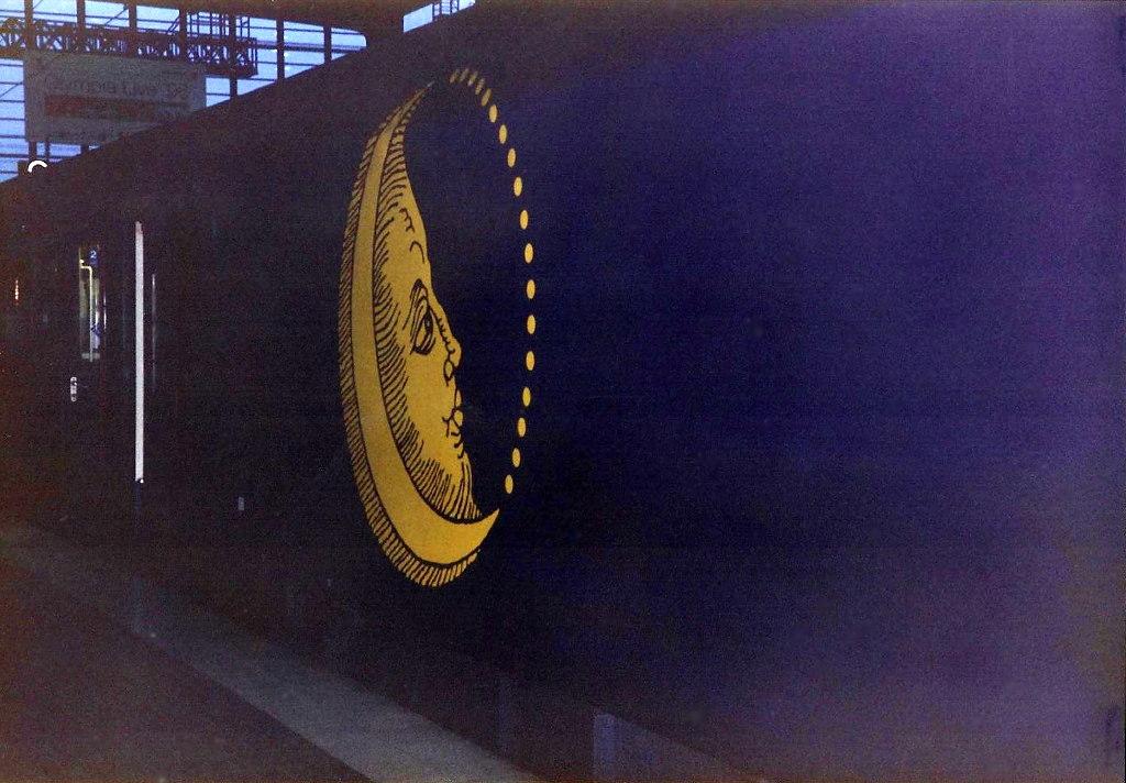 ユーラシア大陸鉄道横断旅行 Go West!1996その43・ベルリン・ベルリンの壁とミトローパ-4326