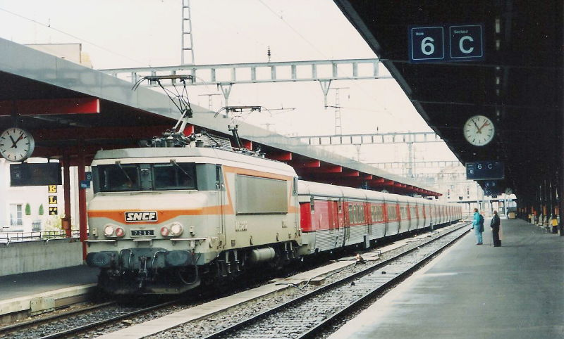 ユーラシア大陸鉄道横断旅行 Go West!1996その61・ジュネーヴからフィレンツェへ-6101