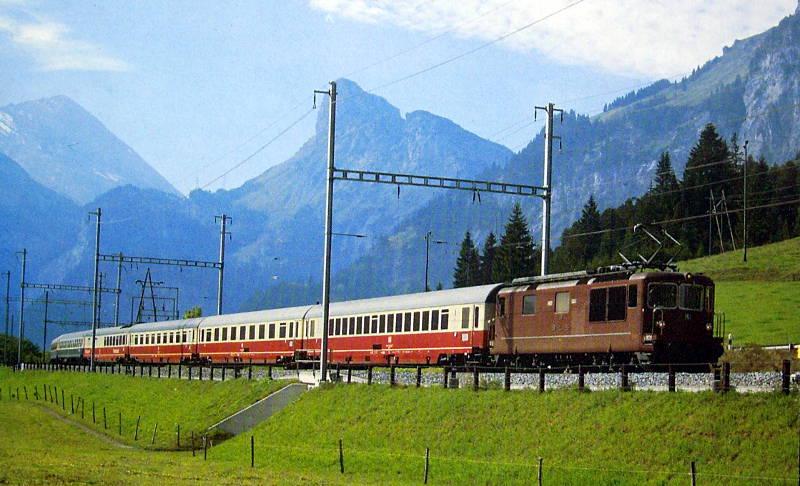 ユーラシア大陸鉄道横断旅行 Go West!1996その61・ジュネーヴからフィレンツェへ-6103