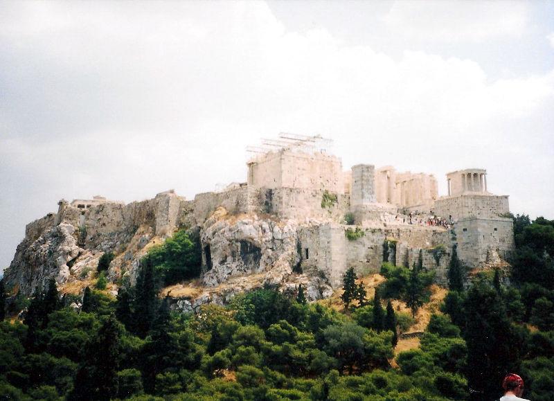 ユーラシア大陸鉄道横断旅行 Go West!1996その69・アテネ・遺跡の観光-6906