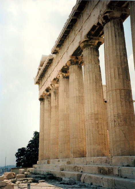 ユーラシア大陸鉄道横断旅行 Go West!1996その69・アテネ・遺跡の観光-6911