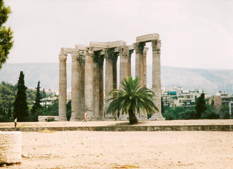 ユーラシア大陸鉄道横断旅行 Go West!1996その69・アテネ・遺跡の観光-6918
