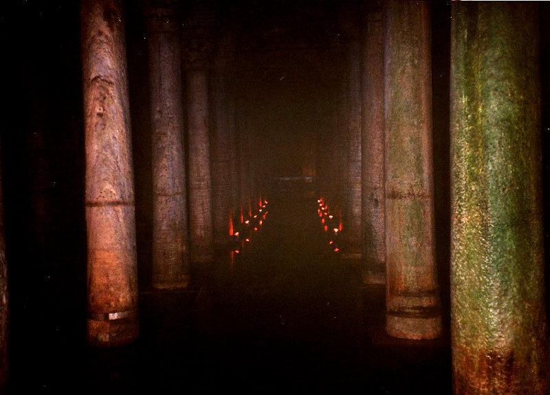 ユーラシア大陸鉄道横断旅行 Go West!1996その76・イスタンブール・宮殿とモスクを見学-7603