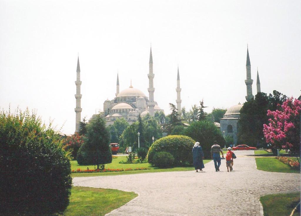 ユーラシア大陸鉄道横断旅行 Go West!1996その76・イスタンブール・宮殿とモスクを見学-7611
