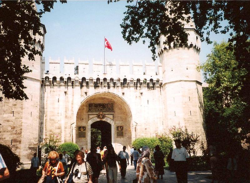 ユーラシア大陸鉄道横断旅行 Go West!1996その76・イスタンブール・宮殿とモスクを見学-7612