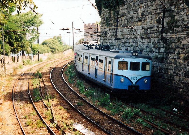 ユーラシア大陸鉄道横断旅行 Go West!1996その76・イスタンブール・宮殿とモスクを見学-7613