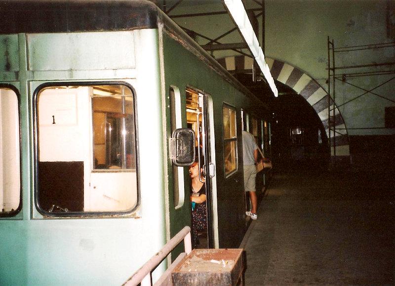 ユーラシア大陸鉄道横断旅行 Go West!1996その78・イスタンブール・新市街とボスポラス海峡-7804