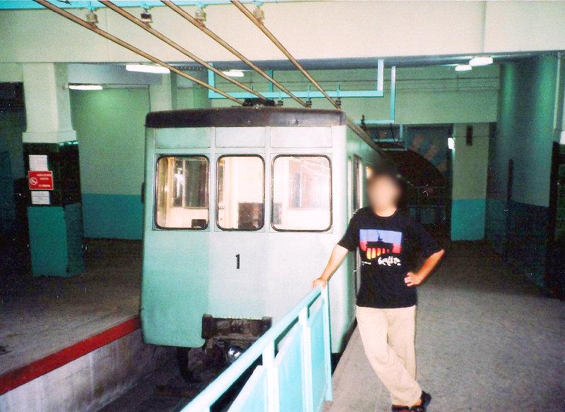 ユーラシア大陸鉄道横断旅行 Go West!1996その78・イスタンブール・新市街とボスポラス海峡-7805