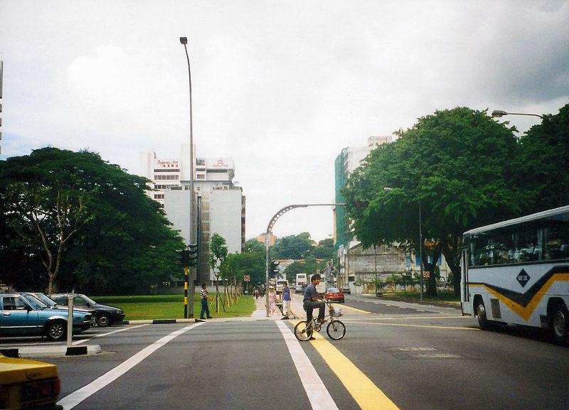 ユーラシア大陸鉄道横断旅行 Go West!1996その83・シンガポール・街歩き-8301