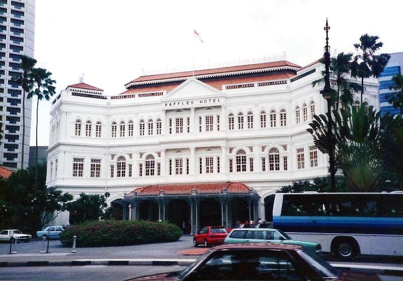 ユーラシア大陸鉄道横断旅行 Go West!1996その83・シンガポール・街歩き-8307