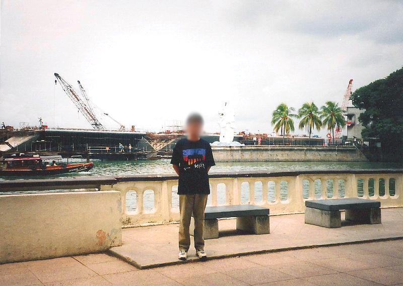 ユーラシア大陸鉄道横断旅行 Go West!1996その83・シンガポール・街歩き-8311