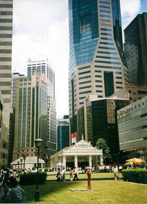 ユーラシア大陸鉄道横断旅行 Go West!1996その83・シンガポール・街歩き-8312