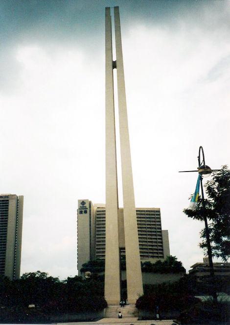 ユーラシア大陸鉄道横断旅行 Go West!1996その83・シンガポール・街歩き-8314