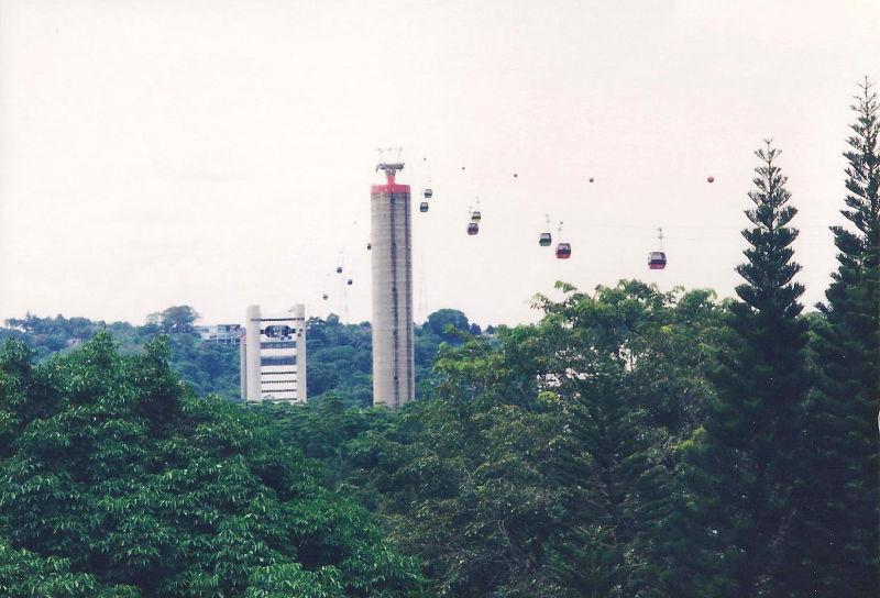 ユーラシア大陸鉄道横断旅行 Go West!1996その85・シンガポール・セントーサ島-8503