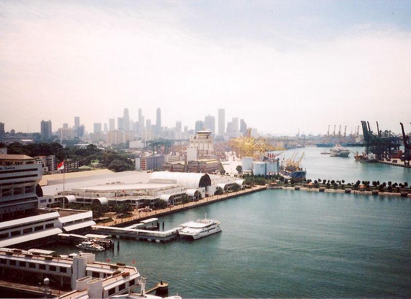 ユーラシア大陸鉄道横断旅行 Go West!1996その85・シンガポール・セントーサ島-8504