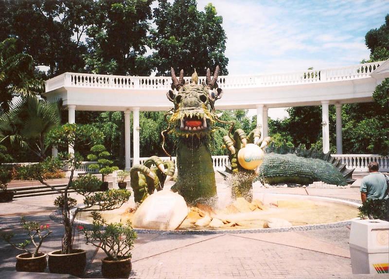 ユーラシア大陸鉄道横断旅行 Go West!1996その85・シンガポール・セントーサ島-8507